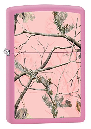 Zippo Realtree Pink Pink Matte