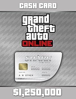 Grand Theft Auto V  Great White Shark Cash Card - PS4 [Digital Code]