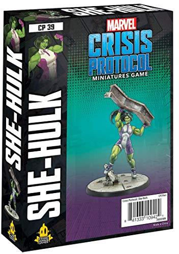 Atomic Mass Games-FFGCP39en She Hulk : Marvel Crisis Protocol, CP39en, Character Packs