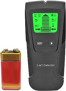 mewmewcat 3 in1 Stud Finder Detector de Parede - Sensor Eletrônico de Stud Detector de Parede do Centro - com Bateria Disp...