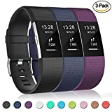 Gogoings Correa para Fitbit Charge 2 Pulsera Ajustable Correa de Reemplazo Deportivo Compatible con Fitbit Charge2 para Mujeres Hombres