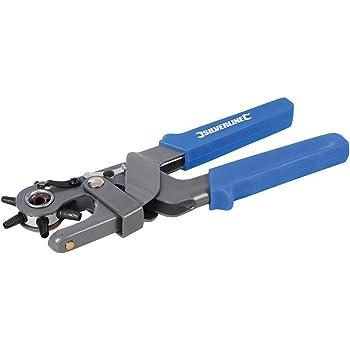 PVC 250g Professionnel Ultra Dur Ceinture En Cuir Trou Perforateur Main Machine Outil Perforer Six Tailles Trou 2//2.5//3 Poign/ée De Couverture Rouge 4.5 mm 3.5//4