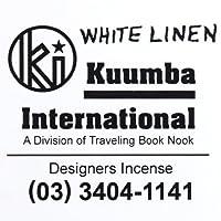 KUUMBA (クンバ)『incense』(WHITE LINEN) (Regular size)