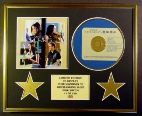 The Corrs-/CD-Display, Limitierte Auflage, Coa/Best of The Corrs