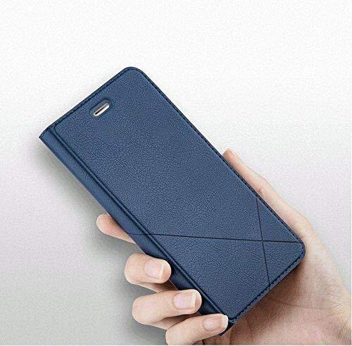 Bubunix Hua Wei Honor 8 Flip Case Hülle, Honor 8 Handyhülle, Geschäfts Art Leder Schlag Schutzhülle Tasche for Huawei Honor 8 - 6
