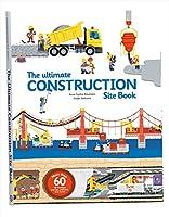 Twirl (トワイラル) 英語のしかけ絵本 工事現場 アルティメイト ブック オブ コンストラクション The Ultimate Construction えいご学習 子ども英語 60以上のパーツが動く 256×336×26mm 建築現場