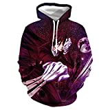 GO2COSY Anime Black Butler Hoodie Double-Sided Printed Sweater Jacket Sweatshirt Costume Pullover
