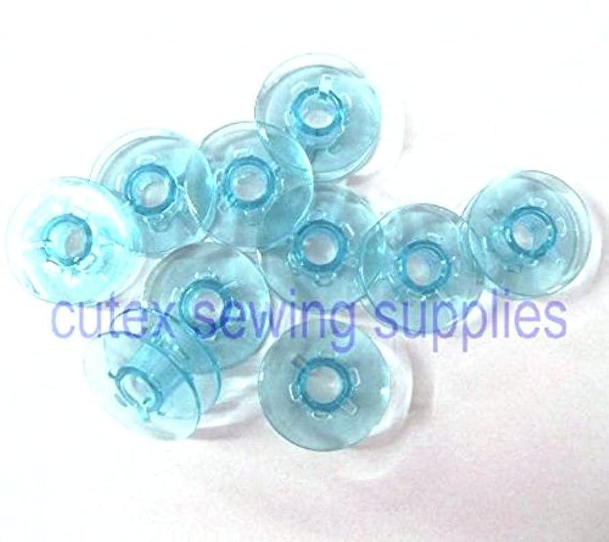 10 Plastic Bobbins for Pfaff Home Sewing Machines #9033p