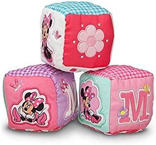 Minnie Mouse IN PINK Soft Blocks for Baby