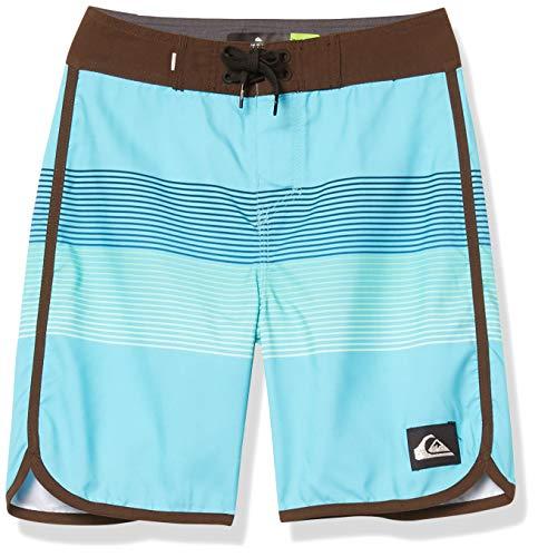 Quiksilver Boys' Boardshorts, Pacific Blue, 28/14