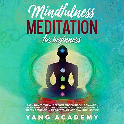 Mindfulness Meditation for Beginners audiobook cover art