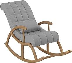 fauteuil schommelstoel fauteuil voor balkon woonkamer slaapkamer, thuisbank klein appartement volwassen dutje vrije tijd s...