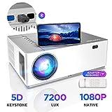 Proiettore BOMAKER 6500 Lumen Nativo Full HD 1080p Videoproiettore, ± 50° Correzione Trapezoidale...