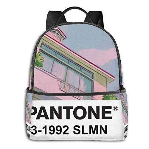 IUBBKI Mochila lateral negra Mochilas informales 90s Anime Student School Bag School Cycling Leisure Travel Camping Outdoor Backpack