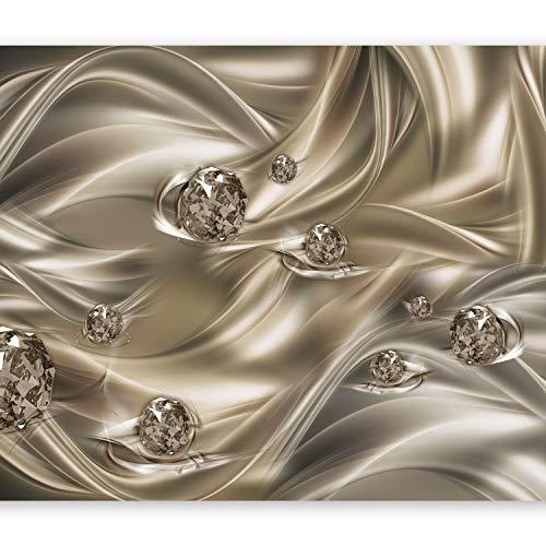 murando Fototapete 400x280 cm Vlies Tapeten Wandtapete XXL Moderne Wanddeko Design Wand Dekoration Wohnzimmer Schlafzimmer Büro Flur Abstrakt Diamant a-A-0253-a-b