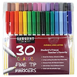 Best Non Toxic Professional Coloring Markers for Adult and Children ...
