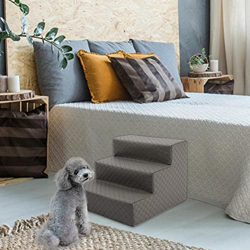 Hundetreppe, Katzentreppe Kleines Sofa Verhaltensleiter, Schwammtreppe, Kleiner Hund, Teddy, Sofa, Bett, Leiter PU (30 cm hoch) 3 Schichten