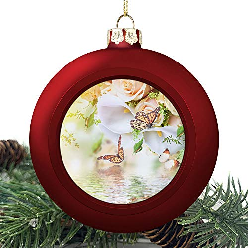SUPNON Bouquet for The | Christmas Ball Ornaments 2020 Christmas Pendant Personalized Creative Christmas Decorative Hanging Ornaments Christmas Tree Ornament №SW160213