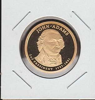 2007 United States Presidential John Adams $1 Superb Gem Proof DCAM US Mint
