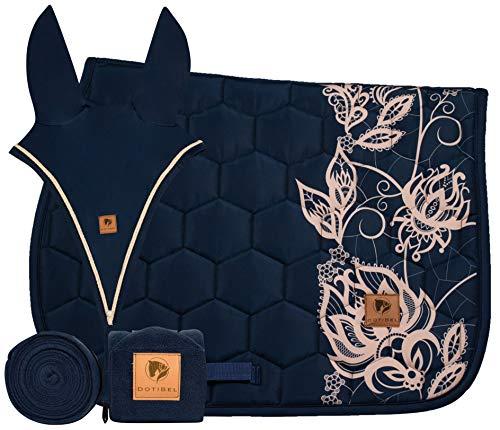 DotiBel Set de 3 pièces : Bandages/Bandes Polaires + Bonnet d