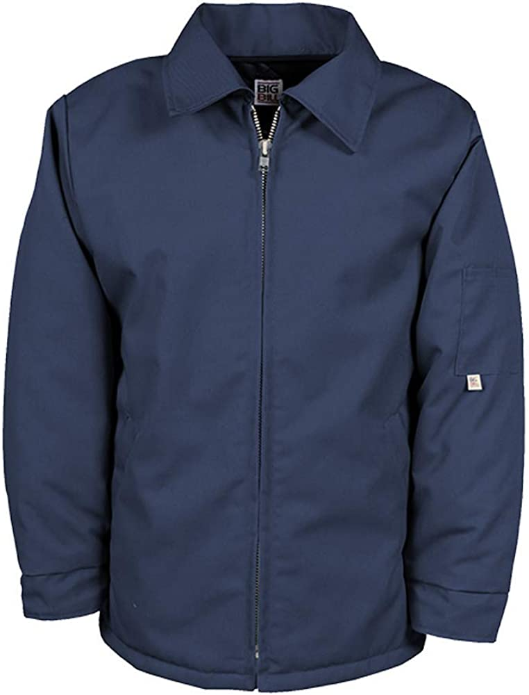 Big Bill Workwear Men's 487 Poly-Quilt Lined Work Jacket - Made in Canada