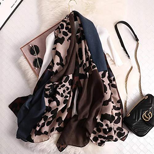 SOROPTLE winter sjaal, luipaard sjaal vrouw, zachte sjaal, sjaal en sjaal, dierenprint luipaard print, mantel