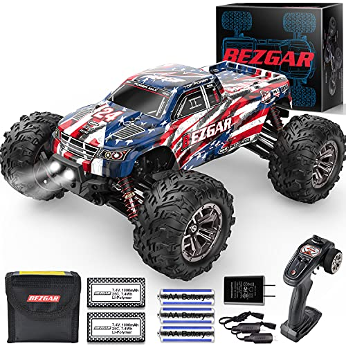 BEZGAR 1:16 Large Size Off Road Remote Control Fast Racing Hobby Car,...