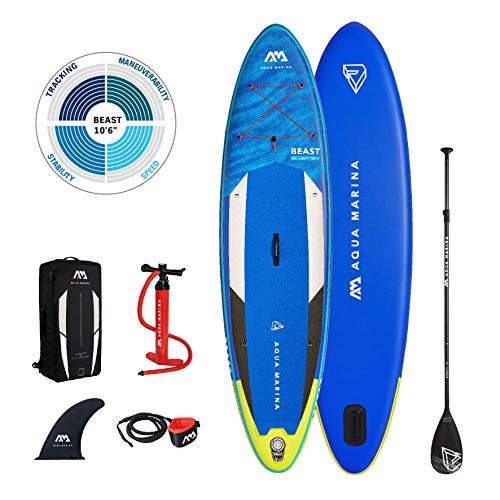 "Aqua Marina Stand Up Paddle Board - BEAST 10'6"" - Inflatable SUP Package 2021"