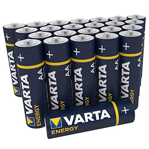 Varta Energy AA Mignon LR6 Batterie (24er Pack) Alkaline Batterie - ideal für Spielzeug Taschenlampe und andere batteriebetriebene Geräte