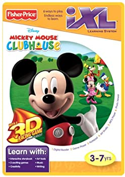 Fisher-Price iXL Learning System Software Mickey s Clubhouse 3D