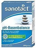 sanotact pH-Basenbalance Pulver Nahrungsergänzungsmittel mit Mineralstoffen, 200 g