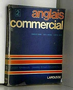 Paperback Anglais commercial (French Edition) [French] Book