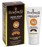 Crema Solar Facial Spf 50 Especial Deporte y Alta Montaña 80 Ml de Fleurymer