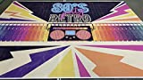 FiVan Back to 80's Party Hintergrund 80th Disco Event Dekoration Hintergrund Tape Recorder Muster Wandbehang Banner XT-7315 - 6