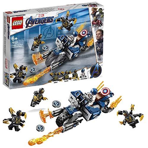 LEGO® Marvel Super Heroes™ Captain America et l'attaque des...