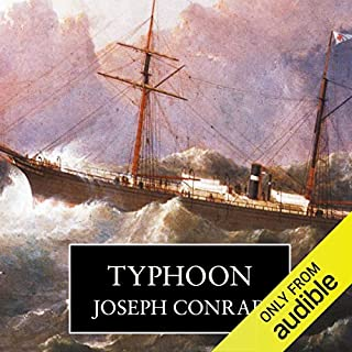 Typhoon                   By:                                                                                                                                 Joseph Conrad                               Narrated by:                                                                                                                                 Roger Allam                      Length: 3 hrs and 12 mins     18 ratings     Overall 4.5