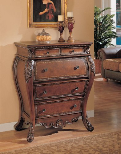 Hot Sale Secretary Bombe Chest with Drop Lid Storage Cabinet