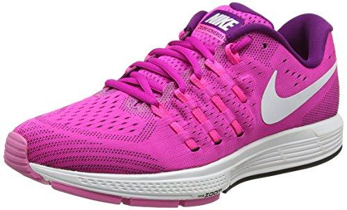 Nike Damen WMNS Air Zoom Vomero 11 Laufschuhe, Pink (Fire pink/Weiß/Bright Grape Violett/Schwarz), 38.5 EU