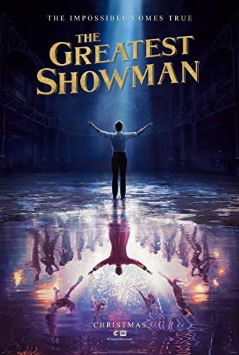 GREATEST SHOWMAN Reservation 2017 Original Attention brand Authentic Poster 27x40 Movie -
