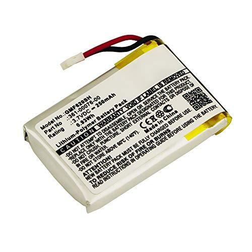 subtel® Batería Premium Compatible con Garmin Forerunner 620, 361-00076-00 250mAh Pila Repuesto bateria