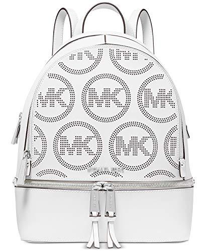 MICHAEL Michael Kors Rhea Zip Medium Backpack Optic White One Size