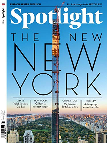 "Spotlight - Englisch lernen 1/2020 ""The New New York"""