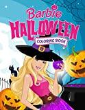 Barbie Halloween Coloring Book: Incredible Illustrations Of Halloween To Unleash Kid's Artistic Abilities And Have Fun By Any Style Of Coloring