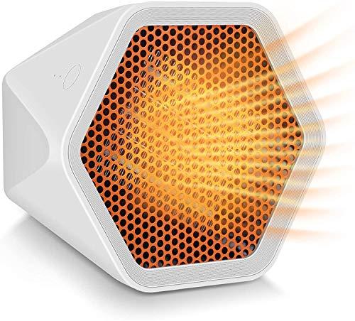 Heizlüfter Keramik Heizgerät,Elektro Heizungen - 3S Fast Heating, Tragbare Heizung mit 1000W Heizmodi,für energiesparend leise Kleine Thermostatheizungslüfter für das Home Office im Raum