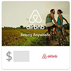 Redeemable for merchandise and services on airbnb.com only. Redemption: Online only No returns and no refunds on gift cards. Gift card balances can not be applied to long term reservations of 28 nights or longer. Gift Cards can only be purchased by o...