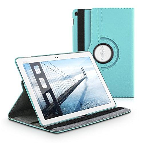kwmobile Asus ZenPad 10 (Z300) Hülle - 360° Tablet Schutzhülle Cover Case für Asus ZenPad 10 (Z300) - Hellblau