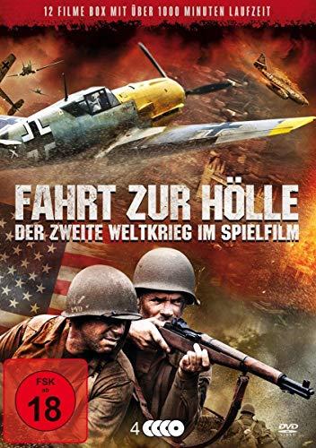 Fahrt zur Hölle - Der 2. Weltkrieg im Spielfilm - 12 Filme auf 4 DVDs