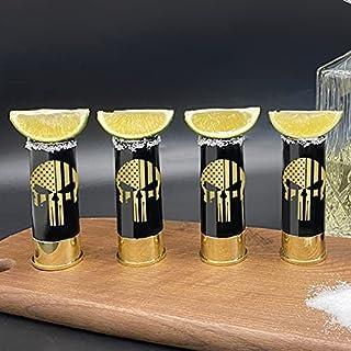 12 Gauge Shot Glasses- Set of 8 shots for Party