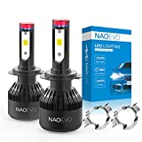 H7 LED Headlight Bulb with Adapter Holder Retainer Clip for VW Jetta 2014-2017/Mercedes Be...