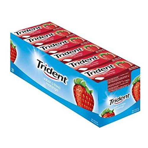 Kauwgom Trident gragea Fruit aardbei 24 dozen